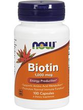 NOW Biotin Review