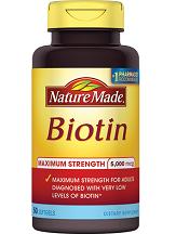 Nature Made Maximum Strength Biotin Review